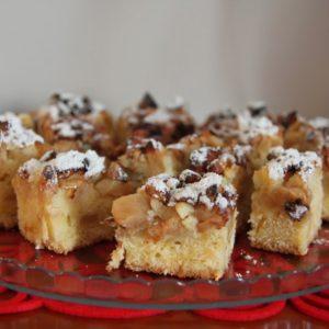 Szybkie i dobre ciasto z jabłkami i cynamonem
