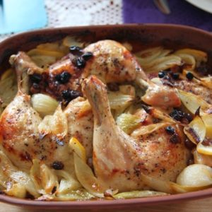 Mocno popieprzony kurczak z nutką cytrynową