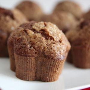 Muffiny cynamonowo-dyniowe z jabłkiem