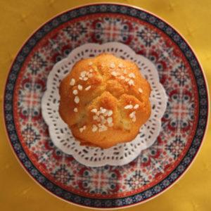 Bolos de Arroz czyli ryżowe muffiny o lekko cytrynowym smaku