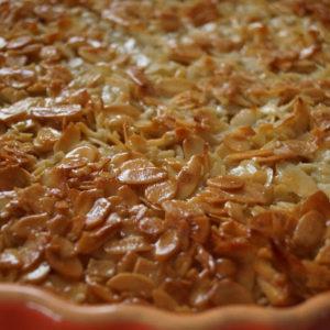 Tarte de Amendoa czyli tarta migdałowa