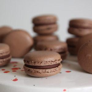 Makaroniki francuskie kakaowe