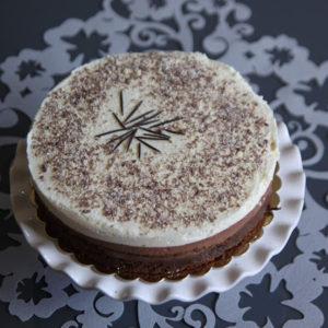 Czekoladowe ciasto musowe - potrójnie czekoladowe (bezglutenowe)