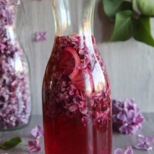 Syrop z kwiatów bzu lilaka