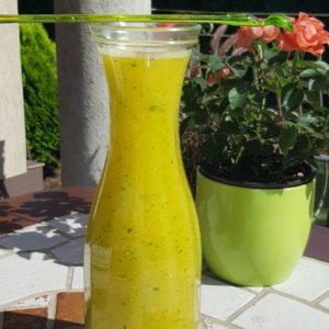 Lemoniada mango-mieta
