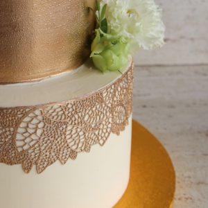 Ganache biały na tynk do tortu